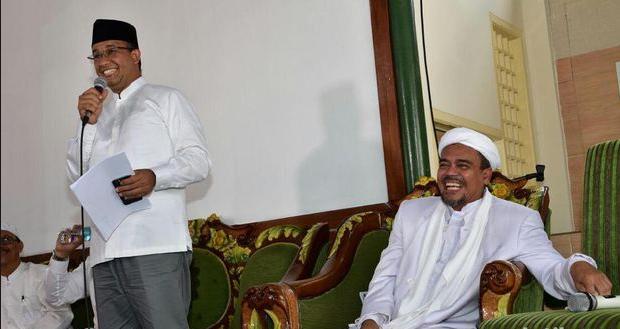 Habib Rizieq Belum Beri Wejangan Kepada Anies-Sandi, Ada Apa?