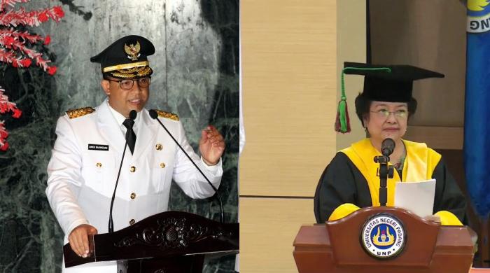 JLEB! Megawati Siap Dilaporkan Jika Polisi Proses Anies Terkait Sebut 'Pribumi