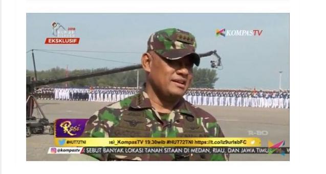 Panglima TNI Tantang Balik Pihak Yang Menudingnya Berpolitik Praktis