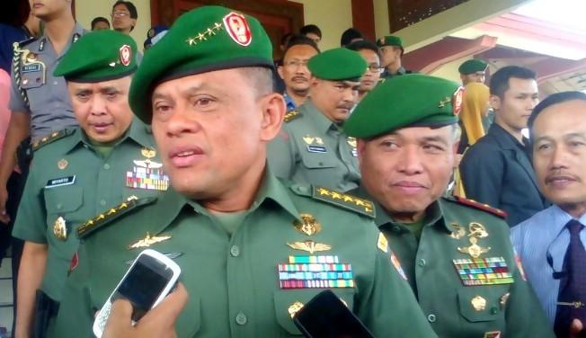 Panglima TNI Beberkan Ada Kelompok Pengadu Domba