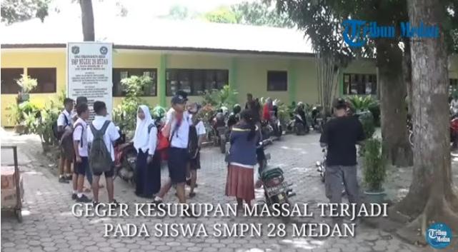 [Video] Kesurupan Massal di SMP Negeri 28 Medan