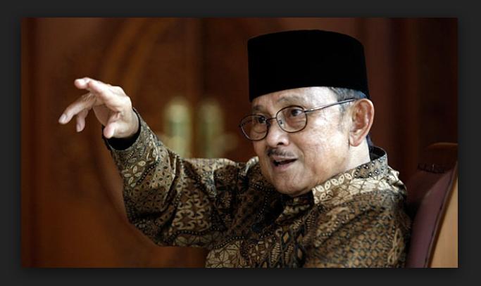 Nasehat Habibie Agar Indonesia Tak Dipermainkan Dunia Internasional