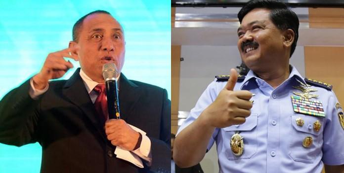 Mengejutkan! Panglima TNI Hadi Izinkan Pangkostrad Edy Rahmayadi Maju di Pilgub Sumut