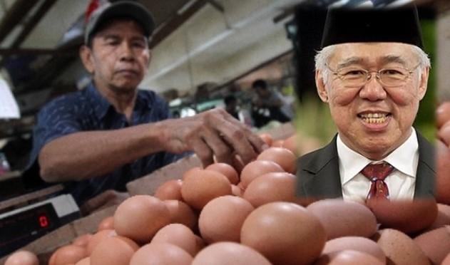 Harga Telur Naik, Mendag Enggartiasto: Ada Beberapa Ayam Peternak Sakit