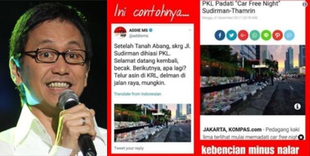 TERCYDUK! 'Serang' Anies-Sandi, Addie MS Pakai Foto Hoax