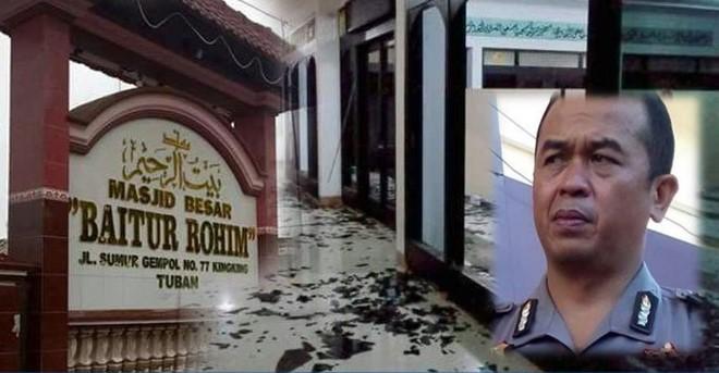 Kaca Masjid Tuban Dirusak, Polisi Sebut Pelaku Diduga Orang Gila