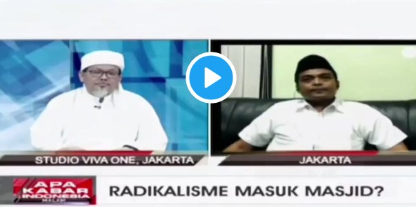 Ustadz Tengku Berhasil Buat Aktivis GP Ansor Tampak Clingak Clinguk di tvOne