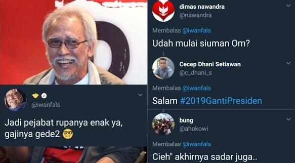 """Gegara Iwan Fals Berkicau Begini, Warganet Langsung Skakmat : """"Udah mulai siuman Om?"""""""
