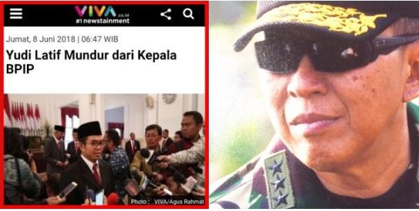 Begini Komentar Menohok Suryo Prabowo Saat Tahu Yudi Latif Mengundurkan Diri dari BPIP