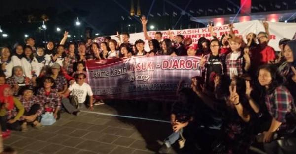 Tanggapan Anies terkait Teriakan Ahokers di Peresmian RTH Lapangan Banteng