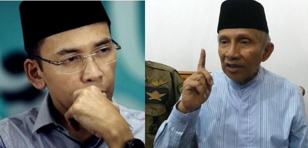 TGB Dukung Jokowi 2 Periode, Amien Rais : Ada Tokoh Yang Keluar Dari Jalan Allah