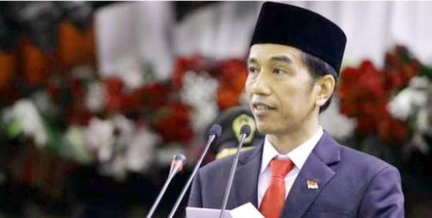 Diprotes Warga saat Pidato di Sleman, Jokowi Langsung Salahkan Mensesneg