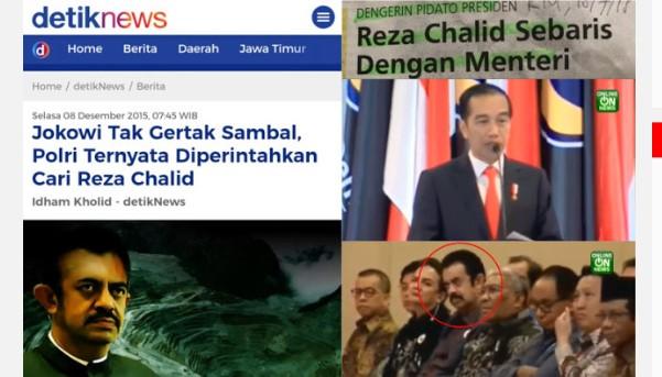 Jadi Buronan, Reza Chalid Nongol Sebaris dengan Menteri Dengerin Pidato Jokowi di Nasdem