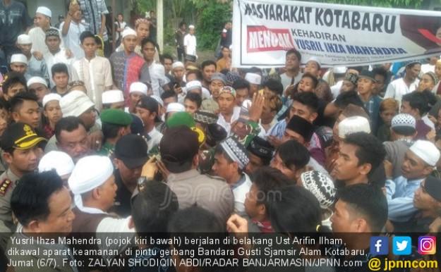 Yusril Dihadang Massa, Ustadz Arifin Ilham Turun Tangan, Begini Kronologisnya