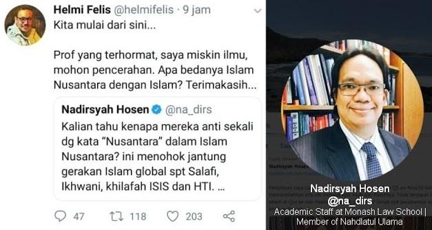 Ini Pertanyaan Terkait Islam Nusantara Yang Buat Prof @na_dirs Mingkem