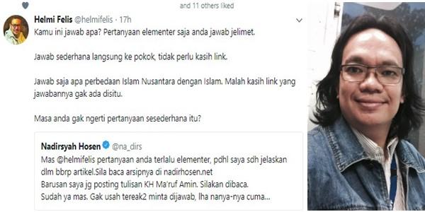 Yang Ditanya Cuma Perbedaan Islam Nusantara dengan Islam, Tapi Jawaban Prof @na_dirs Muter-muter