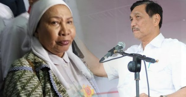 Luhut dan Ratna Sarumpaet Cekcok di Depan Keluarga Korban KM Sinar Bangun, Ini Videonya