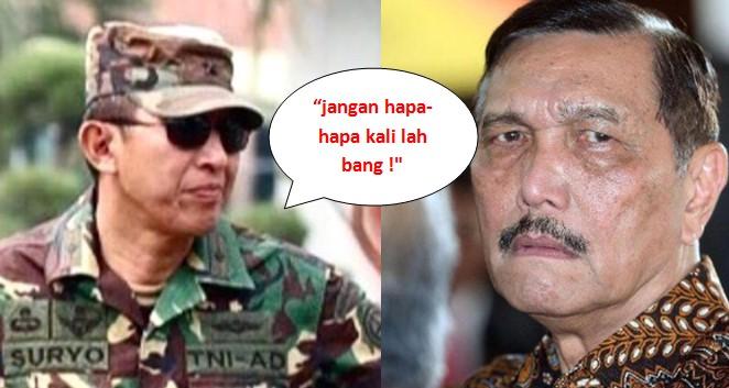 JS Prabowo Semprot Luhut yang Nyinyirin Orang Tukar Dolar ke Rupiah