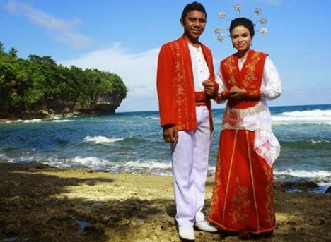 Informasi terkait dengan Baju Cele sebagai busana adat Maluku yang unik